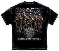 Erazor Bits MM139XL Army Brotherhood Mens T-Shirt - Black