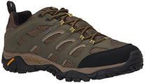 Merrell Men's Moab Waterproof Hiking Shoe, Olive, 9.5 M US