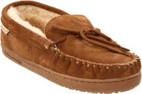 BEARPAW Men's Moc II Slip-On,Hickory,9 M US