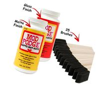 Mod Podge Original 16-ounce Glue, Matte Finish and 16-ounce