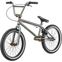 "20"" Mongoose Mode 540 Boys' Freestyle Bike, Gray"