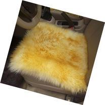 Modern Australia Sheepskin Wool Carpet Chair Cover Mats
