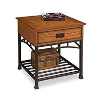 Home Style 5050-20 Modern Craftsman End Table, Distressed
