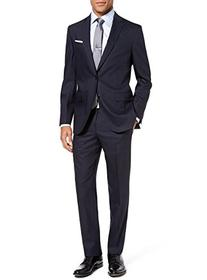 Luciano Natazzi 2 Piece Men's Modern Fit Two Button Narrow