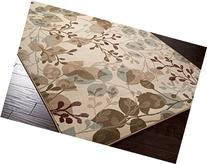 Furnish my Place 5 x 8 Modern Oriental Floral Area Rug Prism