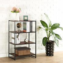 Zinus Modern Studio Collection 4-Shelf Multipurpose Bookcase