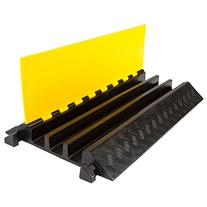 Rage Powersports DH-CP-4 3 Channel Rubber Cable Ramp