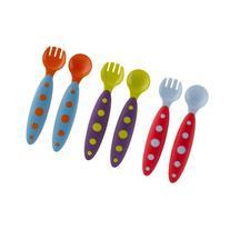 Boon MODWARE Toddler Utensils- ASST 3 pack Blue raspberry/
