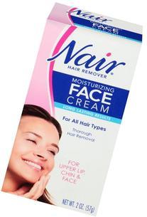 Nair Moisturizing Face Cream Hair Remover 2 oz