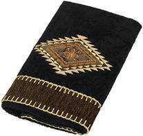 Avanti Linens Mojave Hand Towel, Black