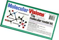 Molecular Visions  Molecular Model Kit #1 by Darling Models to accompany Organic Chemistry