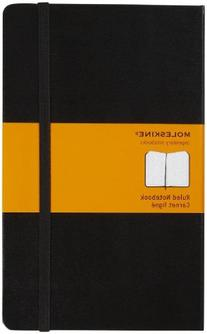 Moleskine Classic Notebook, Large, Ruled, Black, Hard Cover