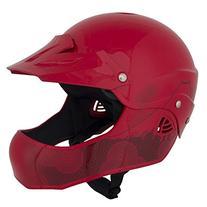 WRSI Moment Full Face Kayak Helmet-Red-S/M