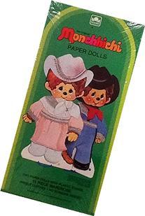 The Original Monchhichi Paper Dolls ~ Box Set By Golden ~
