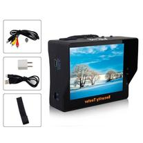 "Lerway 3.5"" LCD Monitor CCTV Security Camera Video Test"