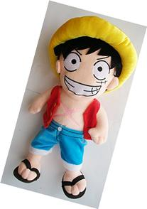 "18"" One Piece LARGE Monkey D LUFFY Plush Doll ~Pirate"