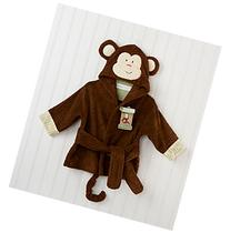 Baby Aspen Monkey Hooded Spa Robe
