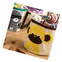 Monkey Storage Bin, Toy Storage Bin, Multi-Colored, Yellow,