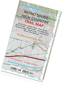 Mono Divide high country trail map