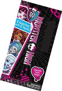 Paper Magic Monster High Valentines with Bonus Pencils