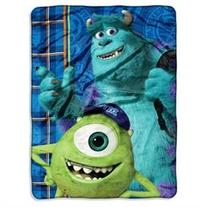 Monsters U Greek Geeks Micro Raschel Blanket