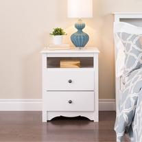 Prepac Monterey2 Drawer Nightstand - WDC-2428