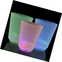 LED Mood Lights Short Glass