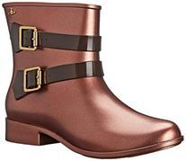 Vivienne Westwood Women's New Moom Dust Rain Boot, Bronze/