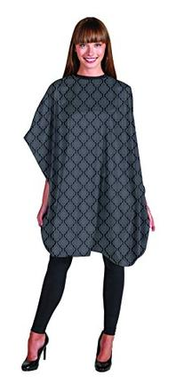 Betty Dain Moroccan Gray Shampoo Cape