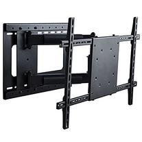 Full Motion TV Wall Mount with Room Correction for Off