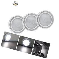 3PCS Motion Sensor Light,eTopxizu AAA Battery Powered Mini