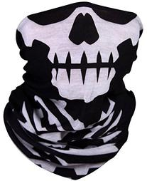 Motorcycle Face Masks 2 Pieces Xpassion Skull Mask Half Face