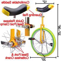 20 Inch Mountain Bike Wheel Unicycle with Quick Release