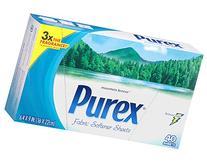 Purex Fabric Softener Dryer Sheets, Mountain Breeze, 40