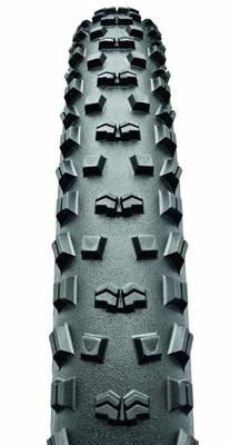 Continental Mountain King II Fold Bike Tire, Black, 29-Inch