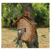 Songbird Essentials Mounted Organic Roosting Pocket, Reed