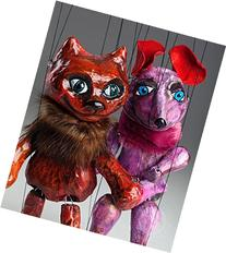 Mouse and Cat Czech Marionettes Puppets