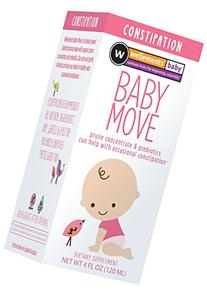 Wellements Baby Move Prune Concentrate with Prebiotics 4 oz