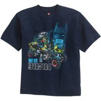 LEGO Boys' Batman Movie Batcave Graphic Tee