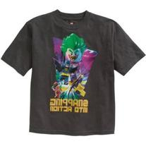 LEGO Boys' Batman Movie Snapping Graphic Tee