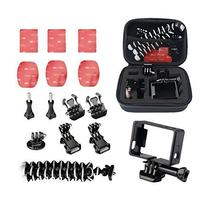 Newmowa Small Size Case 6 in 1 Accessories Kit for GoPro HD