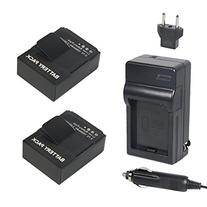 Newmowa AHDBT-302 Battery  and Charger kit for GoPro AHDBT-