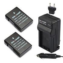 Newmowa EN-EL14 Battery  and Charger kit for Nikon EN-EL14,