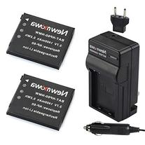 Newmowa NP-60 Battery  and Charger kit for Casio Exilim EX-