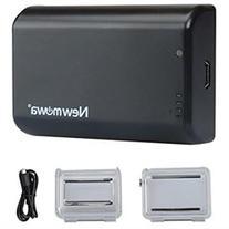 Newmowa 2500mAh Power Battery Bacpac for Gopro Hero4, Hero3
