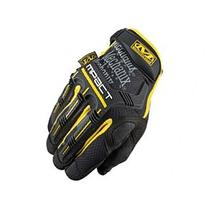 Mechanix M-Pact Glove in Yellow/Black - 2X-Large