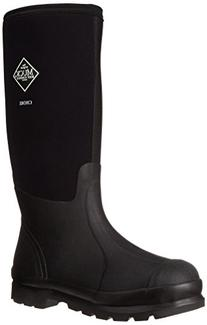 Muck Chore Classic Men's Rubber Work Boots,Black,Men's 11 M