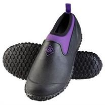 Muckster II Low Black/Purple - Womens Size 9 Womens Muckster
