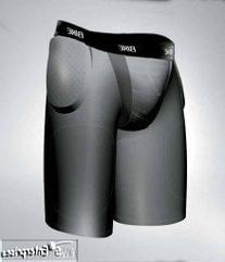 Bike multi sport girdle with 3 pc integrated pads shorts