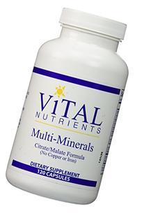 Vital Nutrients Multi-Minerals Citrate-Malate Formula  --